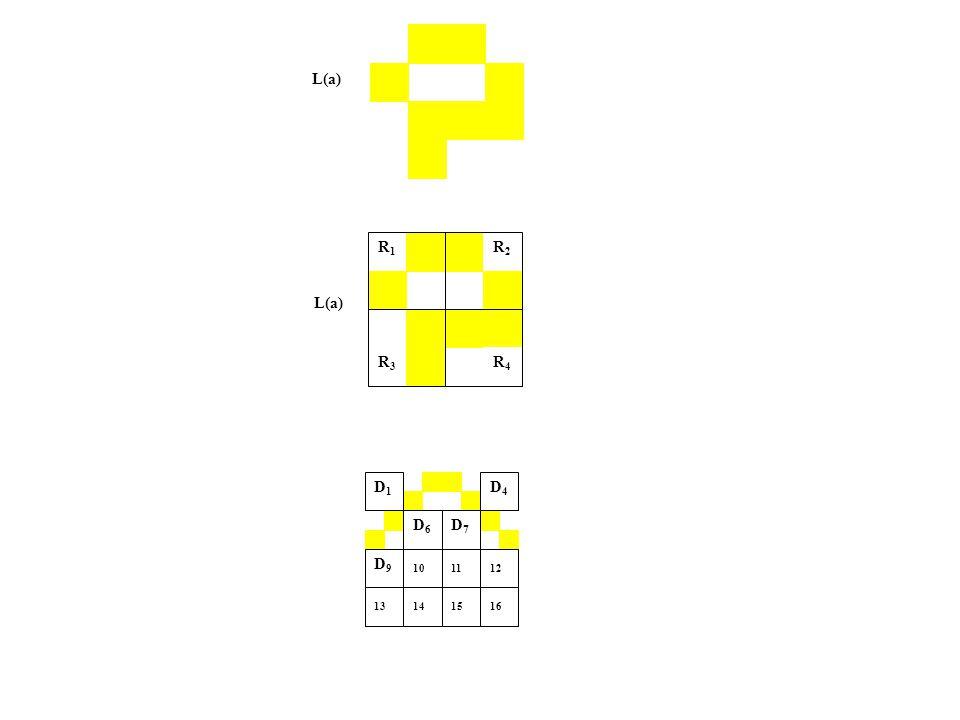 L(a) R1R1 R2R2 R3R3 R4R4 D4 D4 D7 D1D7 D1 D6 D1D6 D1 D1D1 D9 D1D9 D1 12 13 16 14 10 11 15