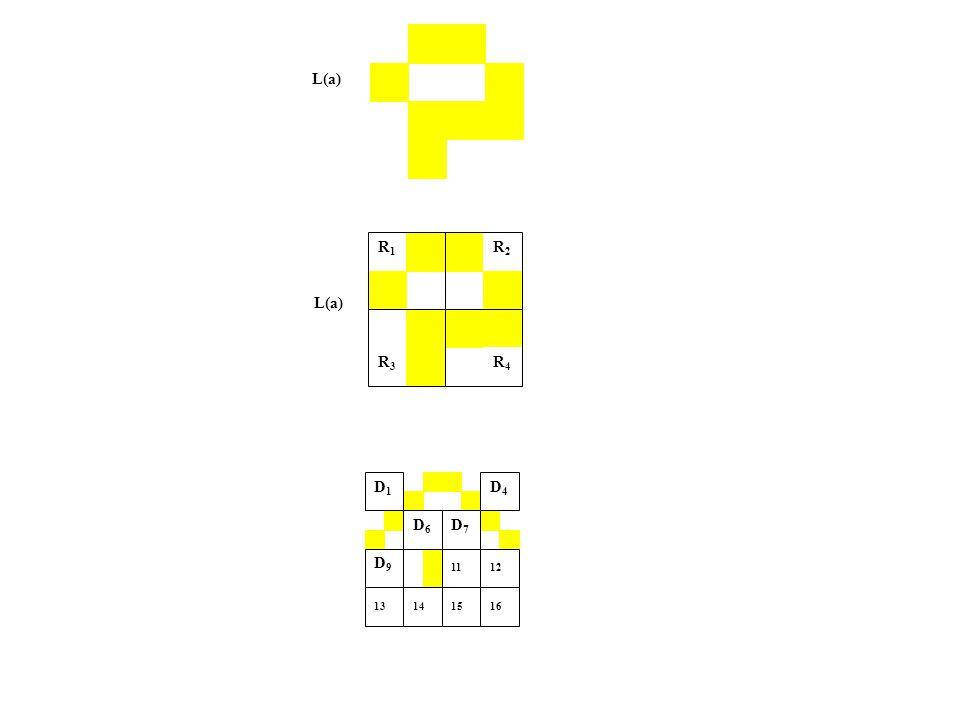 L(a) R1R1 R2R2 R3R3 R4R4 D4D4 D7 D1D7 D1 D6D6 D1D1 D9 D1D9 D1 12 13 1614 11 15