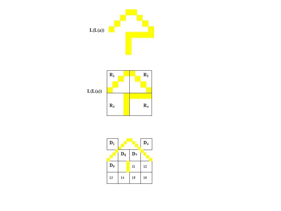 L(L(a)) R1R1 R2R2 R3R3 R4R4 D1D1 D4D4 D6D6 D7 D1D7 D1 11 141516 12 13 D9D9