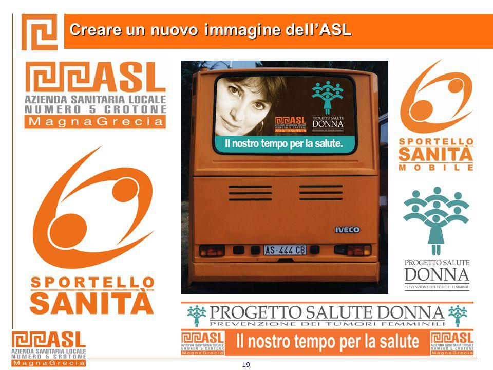 19 Creare un nuovo immagine dell'ASL