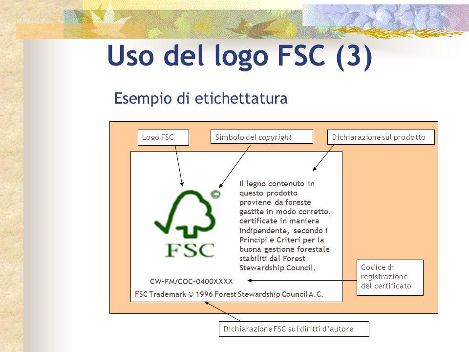 Uso del logo FSC (3) Il legno contenuto in questo prodotto proviene da foreste gestite in modo corretto, certificate in maniera indipendente, secondo
