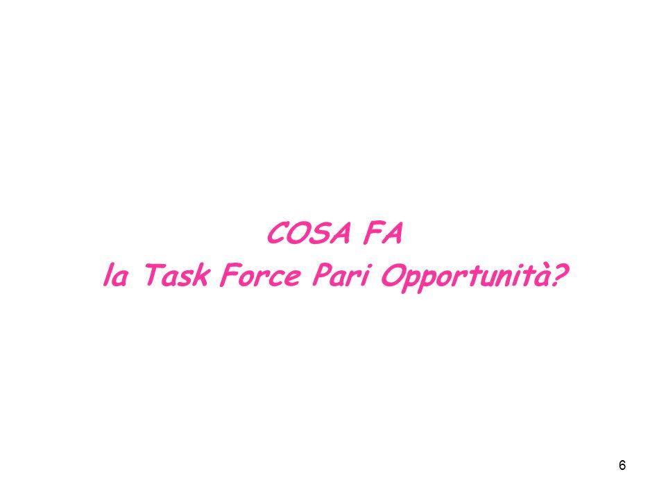 7 PON ATAS OB.1 – MIS.1.2 Cinquantapercento Programma di attività per l'internalizzazione del principio di pari opportunità nell'attuazione del POR Calabria 2000-2006 1.