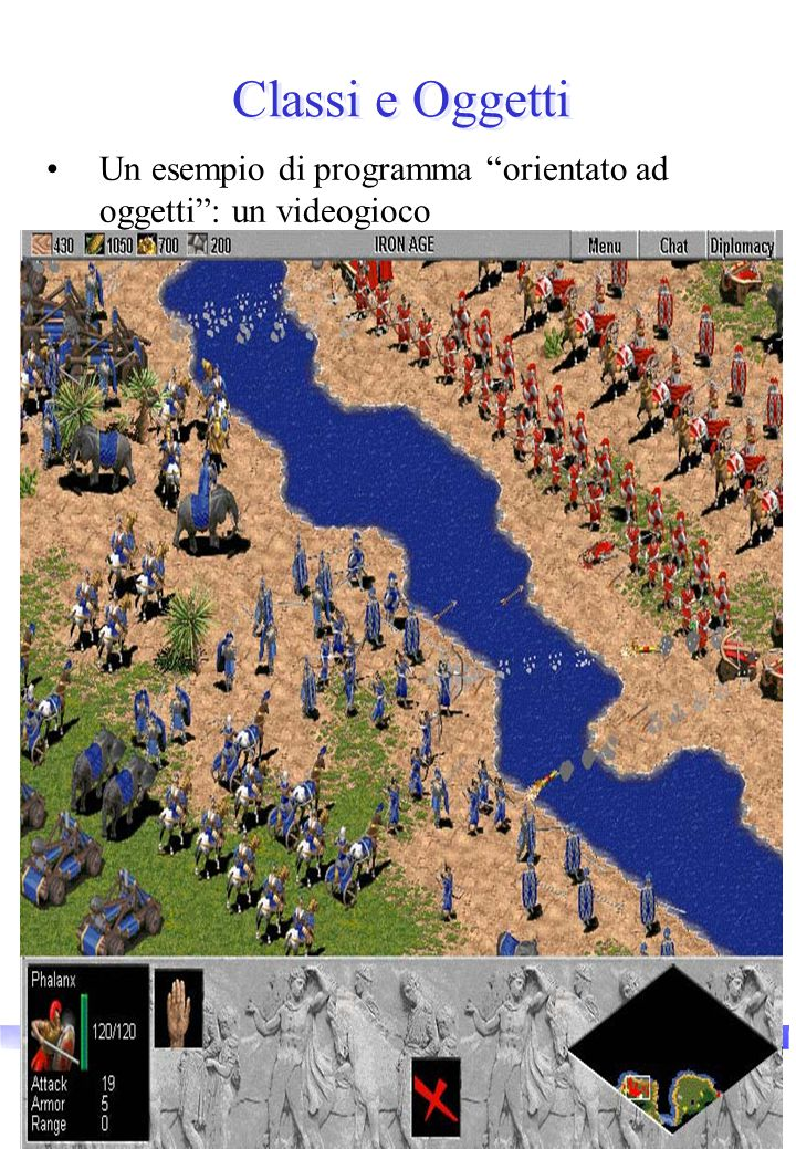Vincenzo Innocente9 Classi e Oggetti Un esempio di programma orientato ad oggetti : un videogioco