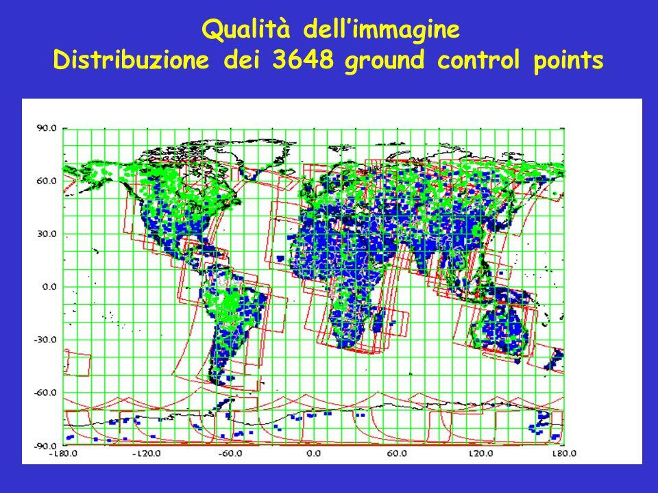 Ricezione centralizzata e sistema di produzione garantiscono un prodotto standardizzato Prodotti giornalieri o sintesi a 10 giorni (S10) Prodotti direttamente interpretabili, già calibrati e corretti Integrazione diretta in un GIS (già georeferenziati) Prodotti con alta precisione geometrica e distorsione molto multispettrali < 200 m, multidata < 500 m bassa  multispettrali < 200 m, multidata < 500 m