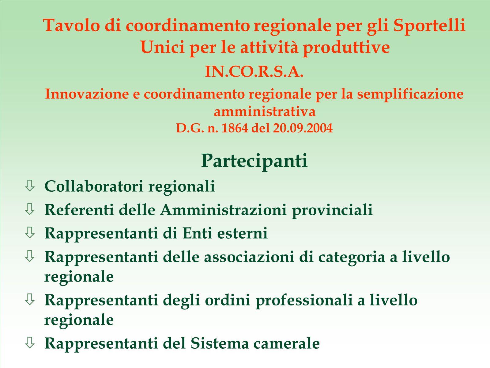 Comitato tecnico art.6, comma 3, del Regol.