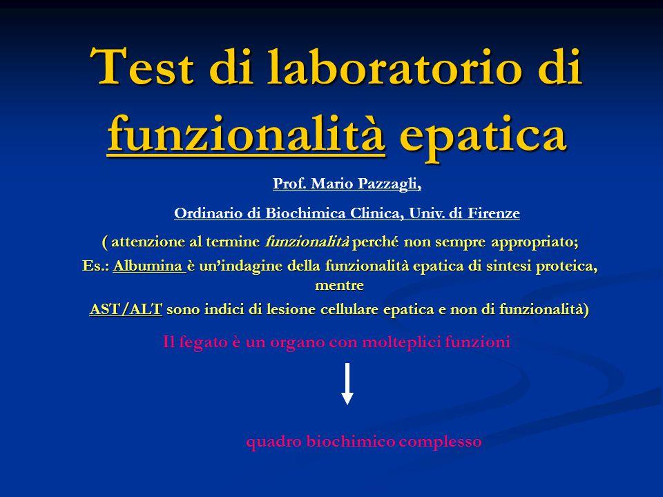 Alfa - FETOPROTEINA Marker tumorale.