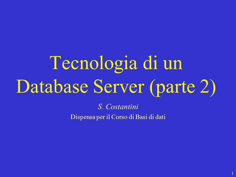 112 Architettura Client-Server Presentation Manager Workflow Control (gestisce le richieste) Database Server Front-End (Client) Back-End (Server) Utente finale Transaction Program richieste
