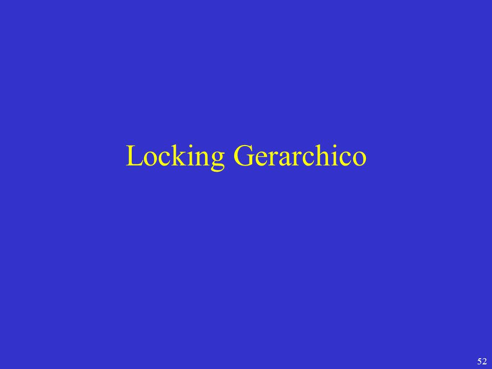 52 Locking Gerarchico