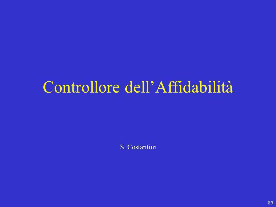 85 Controllore dell'Affidabilità S. Costantini