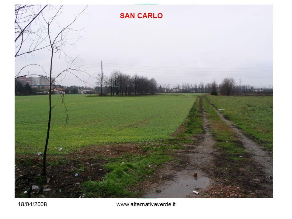 18/04/2008www.alternativaverde.it SAN CARLO