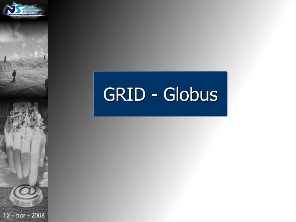 12 – apr – 2006 GRID - Globus