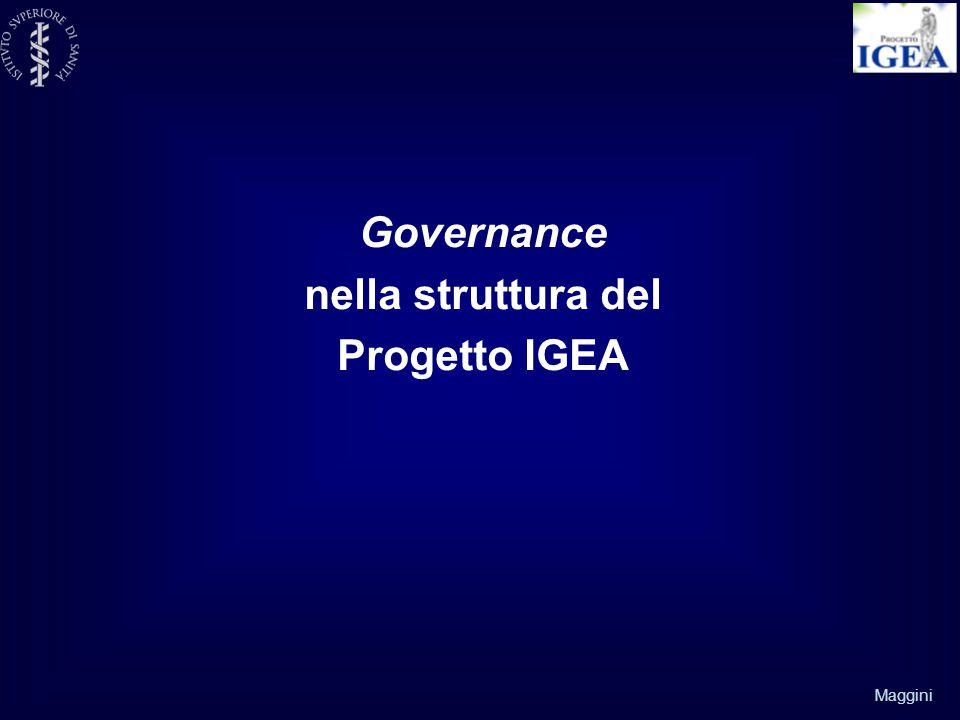 Maggini Governance nella struttura del Progetto IGEA