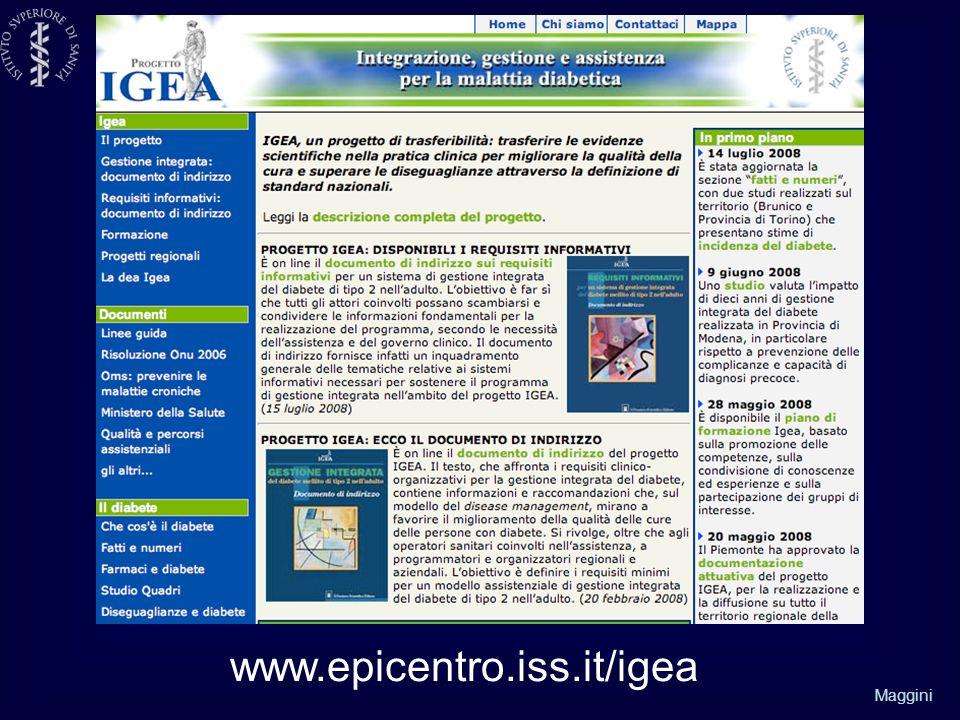 Maggini www.epicentro.iss.it/igea