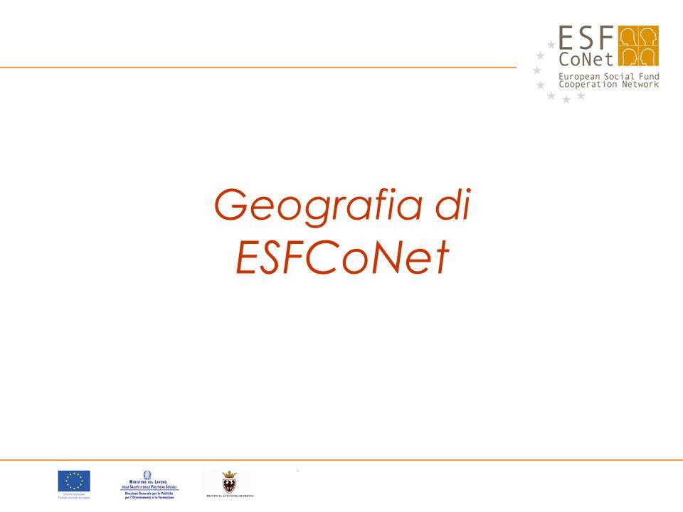 Geografia di ESFCoNet