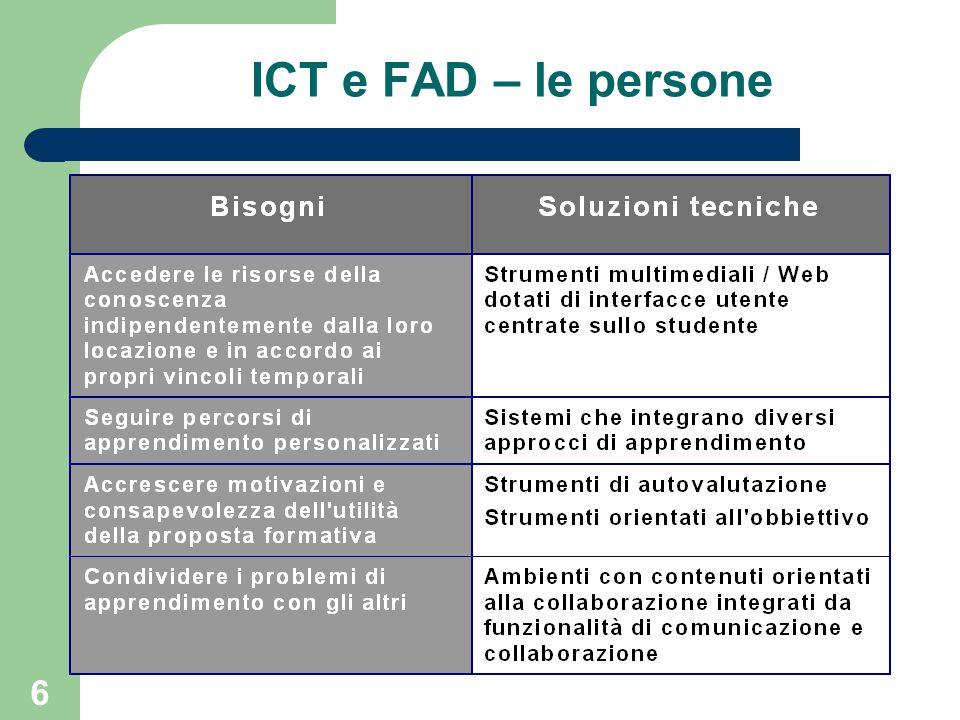 6 ICT e FAD – le persone