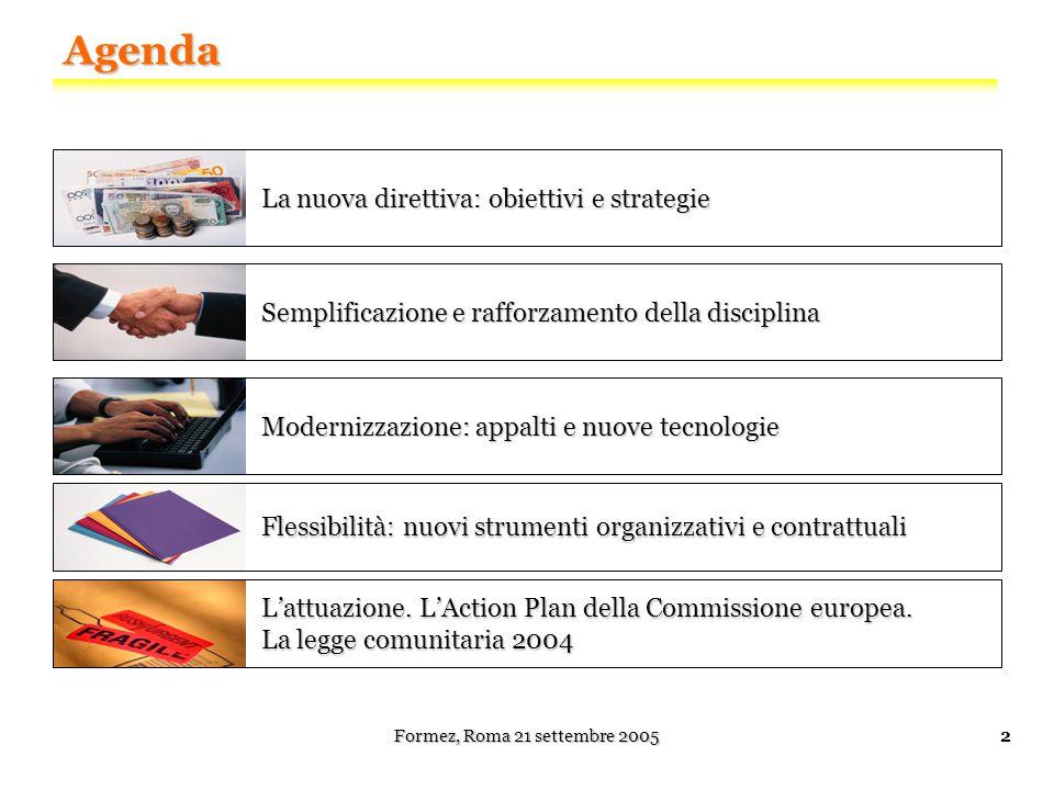 La nuova Direttiva: obiettivi e strategie Formez Napoli, 4 novembre 2004