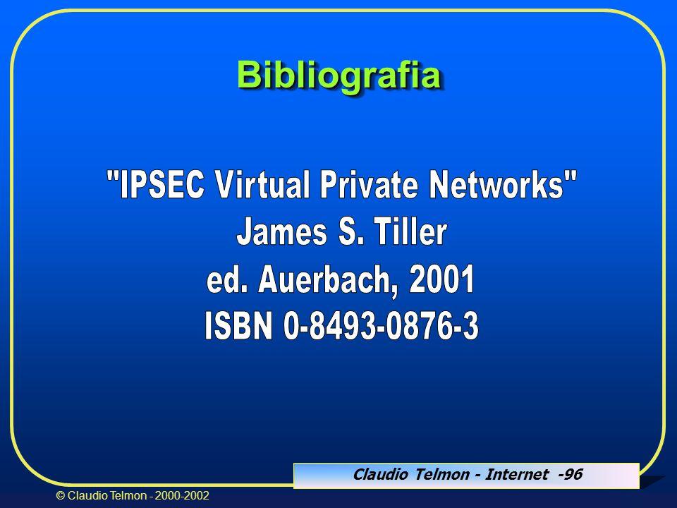 Claudio Telmon - Internet -96 © Claudio Telmon - 2000-2002 BibliografiaBibliografia