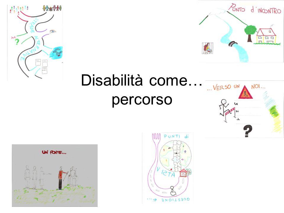 Rappresentarsi la disabilità significa pensare ad un percorso, che si configura, in alcune tappe o in tutto il suo svolgersi, come una domanda, proprio perché forse da una domanda parte: cos'è disabilità.
