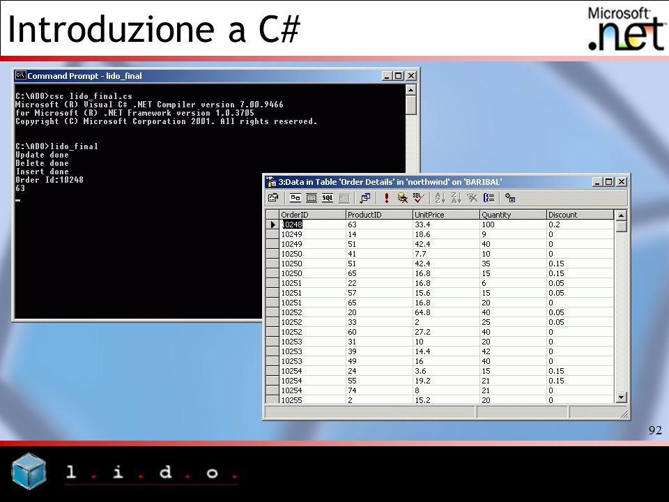 Introduzione a C# 92