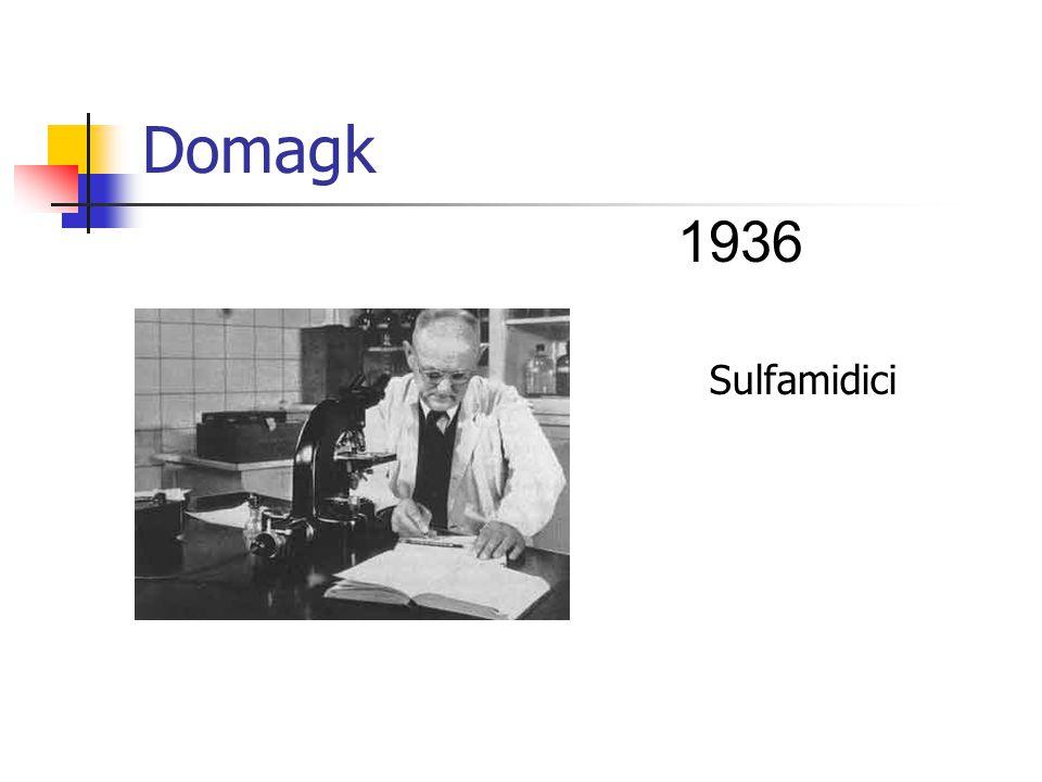Domagk Sulfamidici 1936