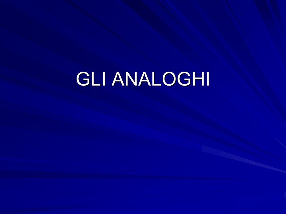 GLI ANALOGHI