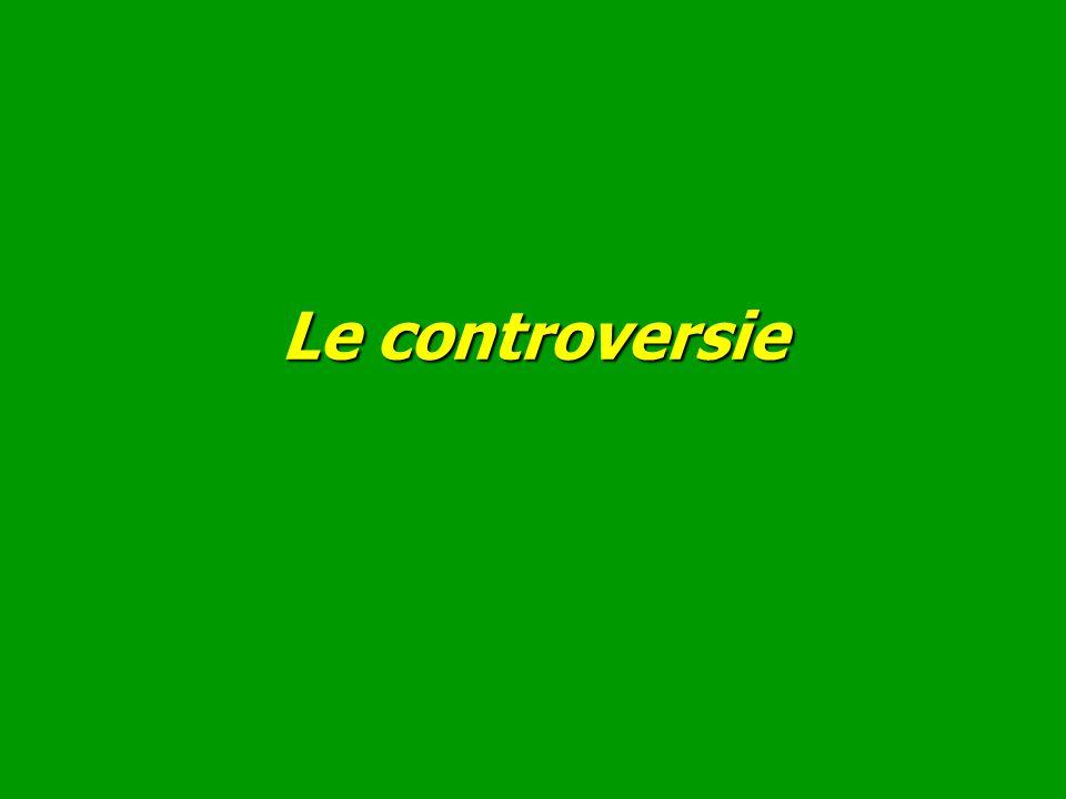 Le controversie