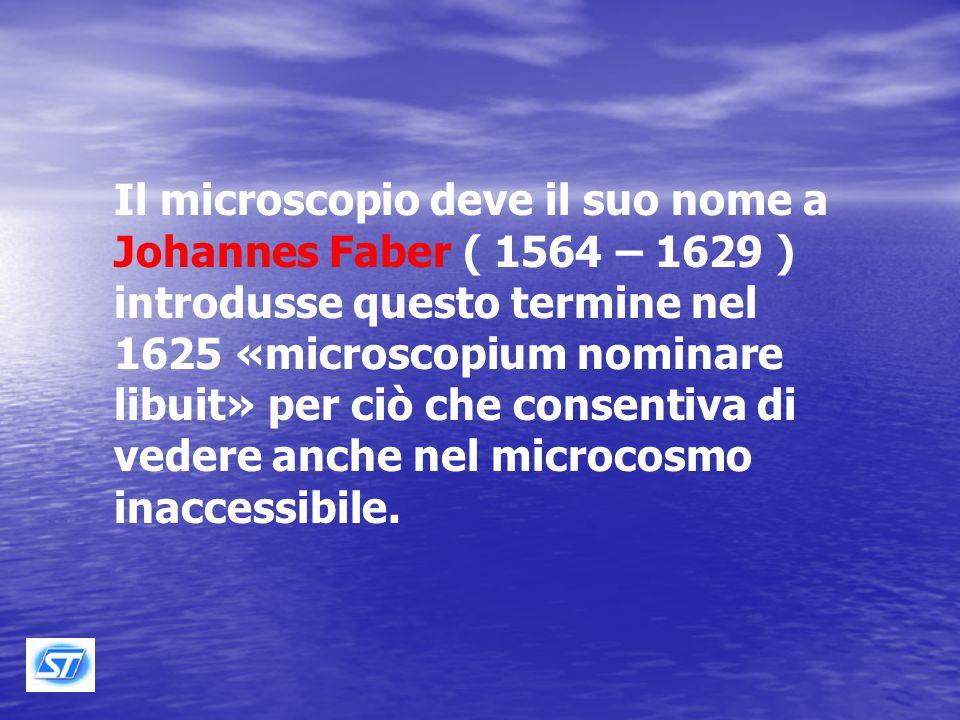 Il microscopio è uno strumento che ingrandisce l'immagine degli oggetti in modo da rivelare dettagli non visibili ad occhio nudo.