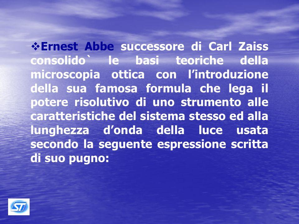 Carl Zeiss Ernest Abbe