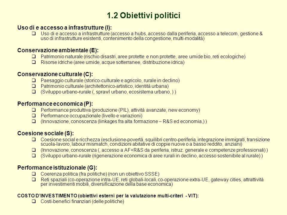 Tabella 3 - Valutazione sintetica e rapporto con il costo dell investimento - Strategie infrastrutturali per il corridoio del Brennero