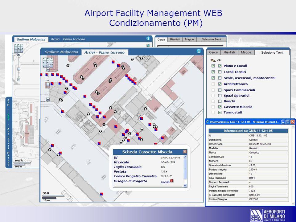 Airport Facility Management WEB Condizionamento (PM)