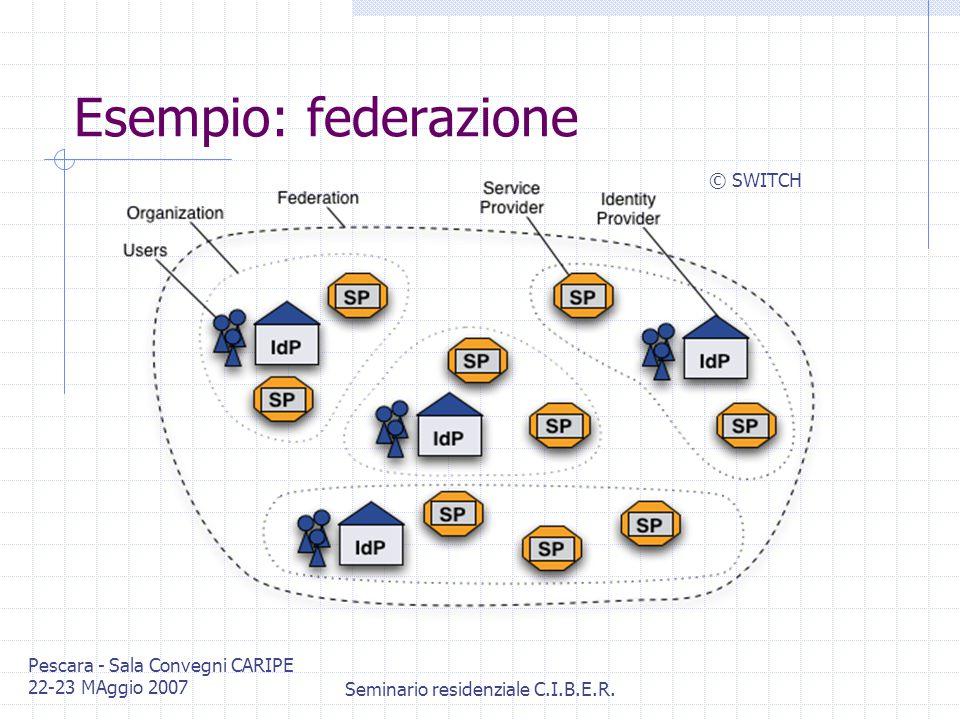 Pescara - Sala Convegni CARIPE 22-23 MAggio 2007 Seminario residenziale C.I.B.E.R.