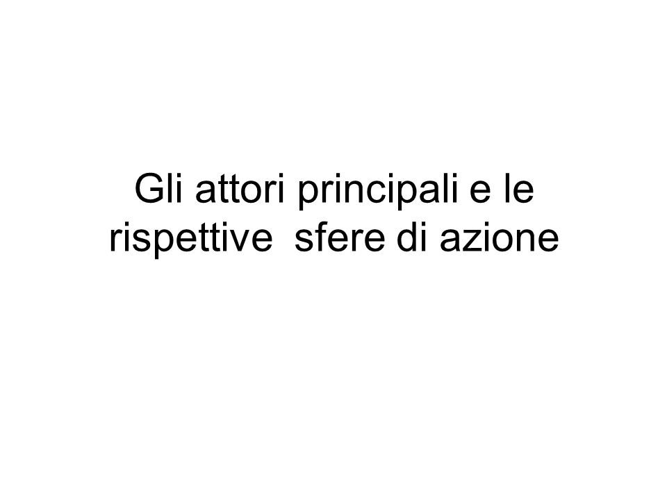 ….gli attori ….gli attori …… SponsorPromoter (Promotore) DeveloperLender (Finanziatore) Project Company (Società di scopo) Investors (Investitori) Operator (Gestore) General Contractor Legal Advisors (Consulenti legali) Engineer (Direttore Lavori) Insurance Brokers Lender's supervisor
