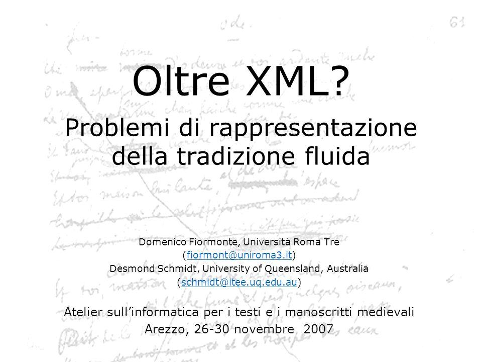 Oltre XML.