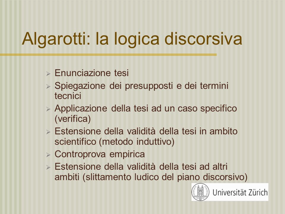 F. Algarotti (1712-1764) F. Algarotti, Newtonianesimo per le dame, 1737