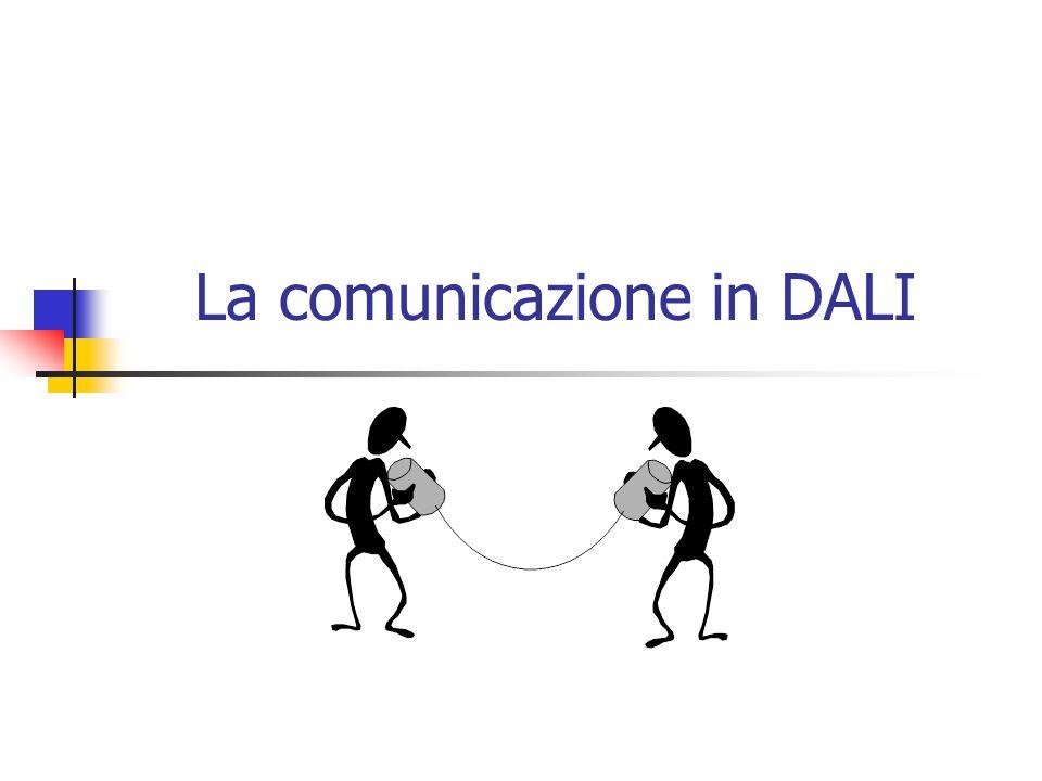 La comunicazione in DALI