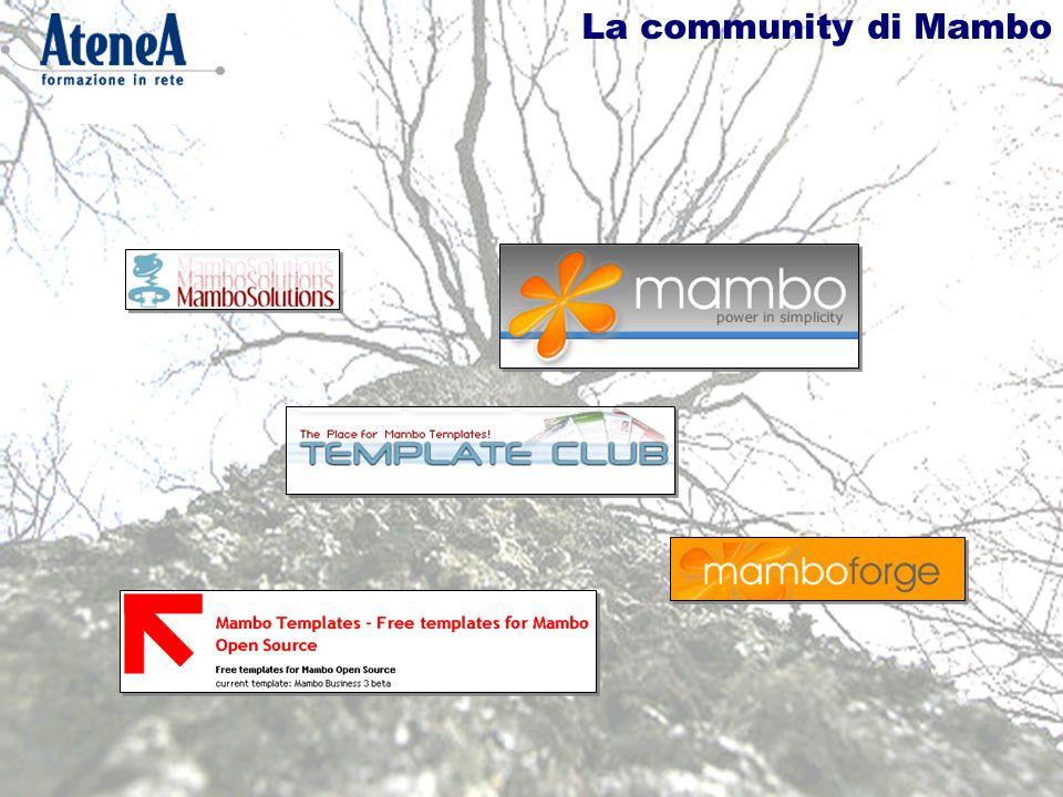 La community di Mambo
