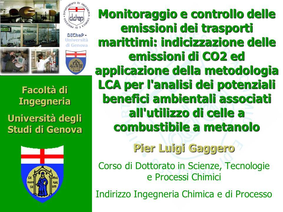 Pier Luigi Gaggero Corso di Dottorato in Scienze, Tecnologie e Processi Chimici Indirizzo Ingegneria Chimica e di Processo Monitoraggio e controllo de