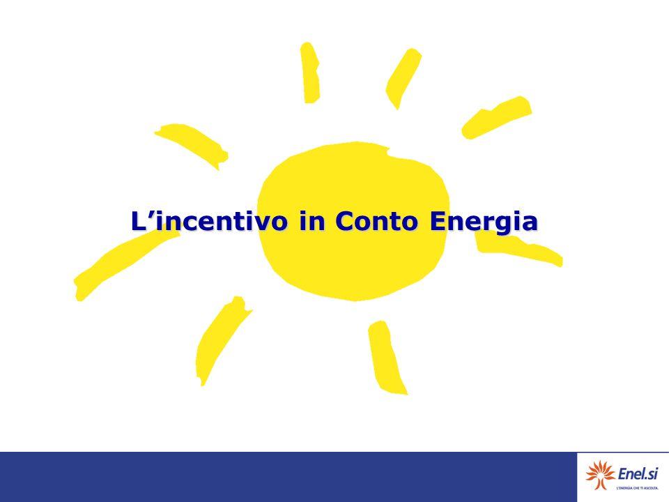 L'incentivo in Conto Energia