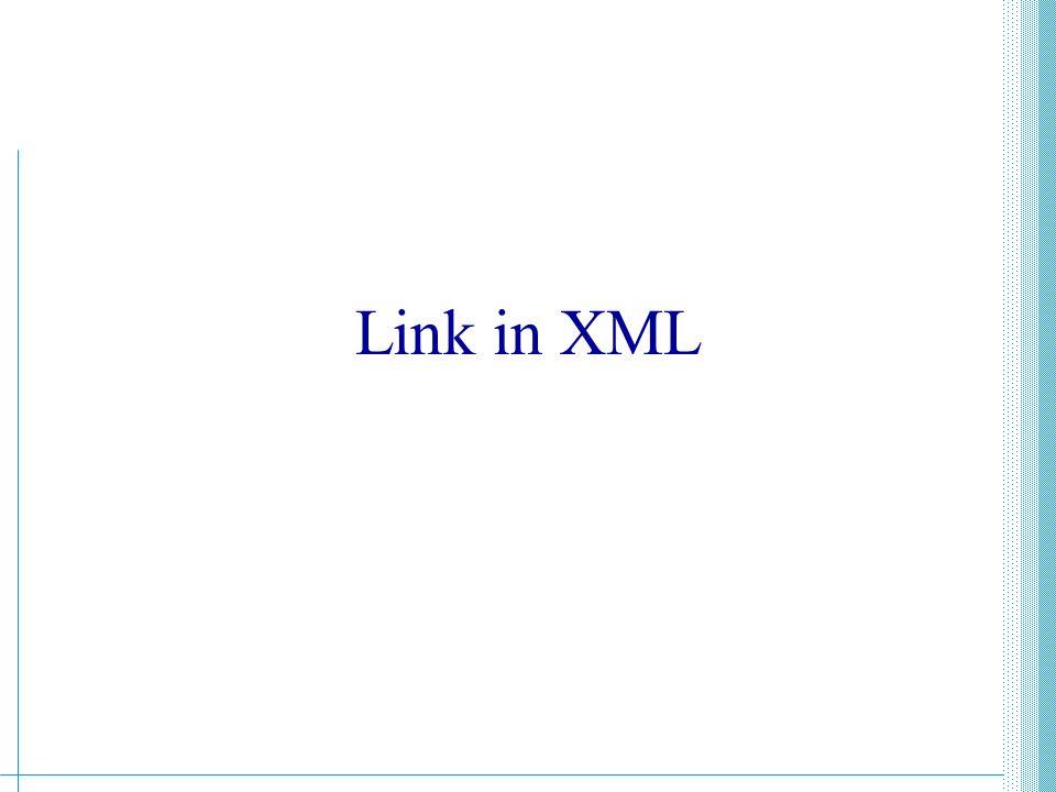 XML - Guido Boella206 XPath, XPointer e XLink XPath, XLink e XPointer sono tre documenti di W3C per la specifica di link ipertestuali sui documenti XML.