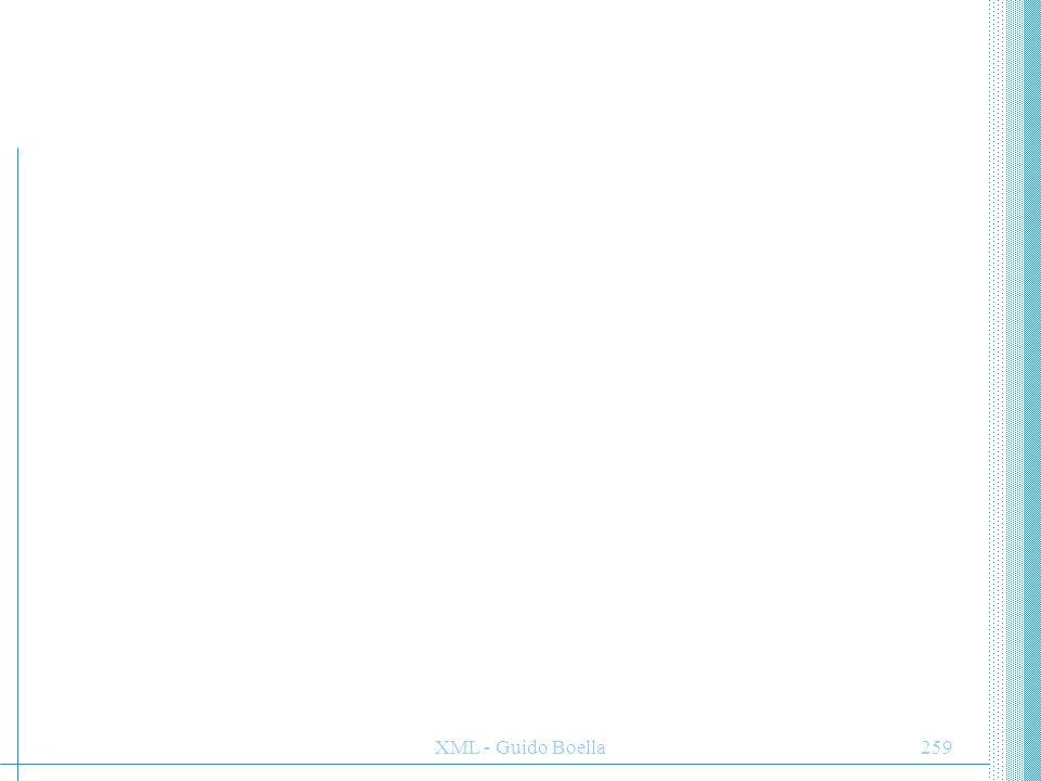XML - Guido Boella259