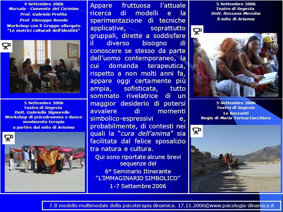 4 Settembre 2006 Marsala - Convento del Carmine Prof.
