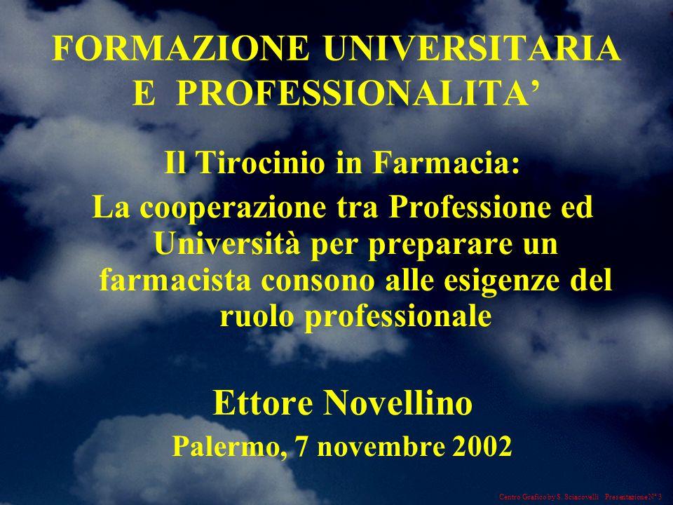 Centro Grafico by S. Sciacovelli Presentazione N° 14 RICERCA PROFESSIONE DIDATTICA