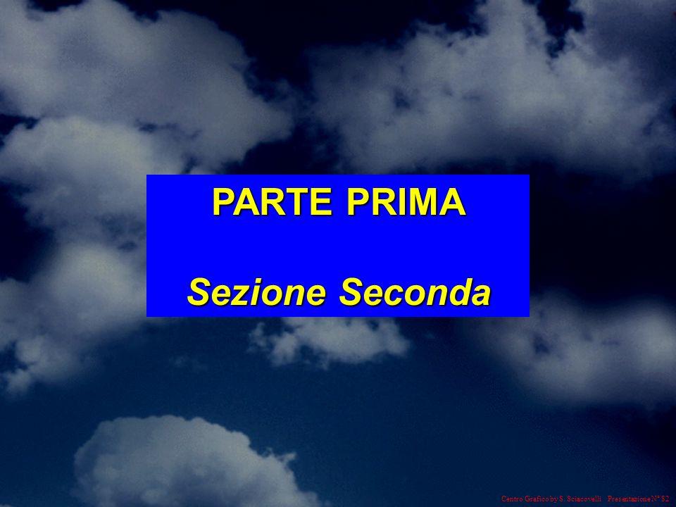 Centro Grafico by S. Sciacovelli Presentazione N° 82 PARTE PRIMA Sezione Seconda