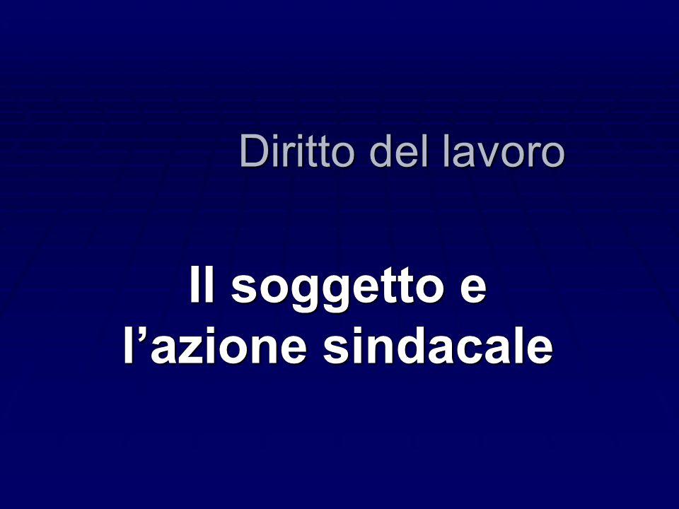 Le ragioni della scelta costituzionale   Consapevolezza della frammentazione ideologica del sindacalismo italiano   Necessità di trovare un criterio in grado di conciliare pluralismo sindacale e disciplina unitaria dei rapporti di lavoro QUALE CRITERIO.