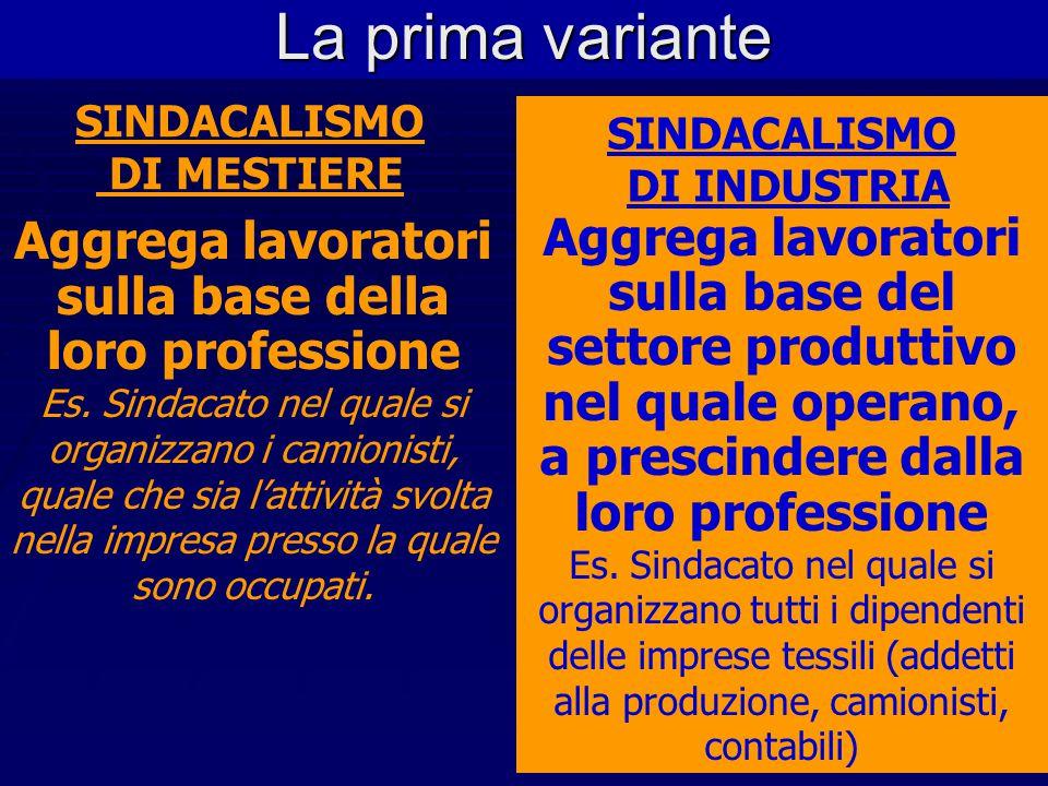 L'associazionismo sindacale in Italia  Una domanda preliminare rispetto all'analisi giuridica della fonte contrattuale Chi stipula i C.C.N.L? Sindaca