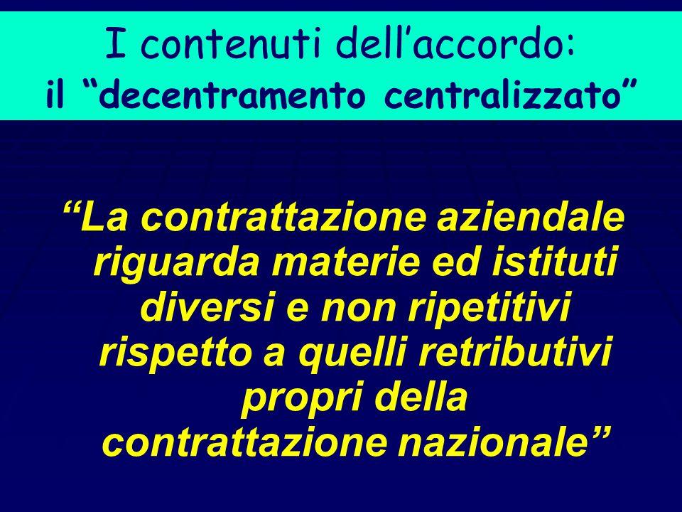 La soluzione vigente: il Protocollo del luglio 1993 Il compito di ridisegnare il sistema contrattuale, in Italia, è stato assunto dal sistema contratt