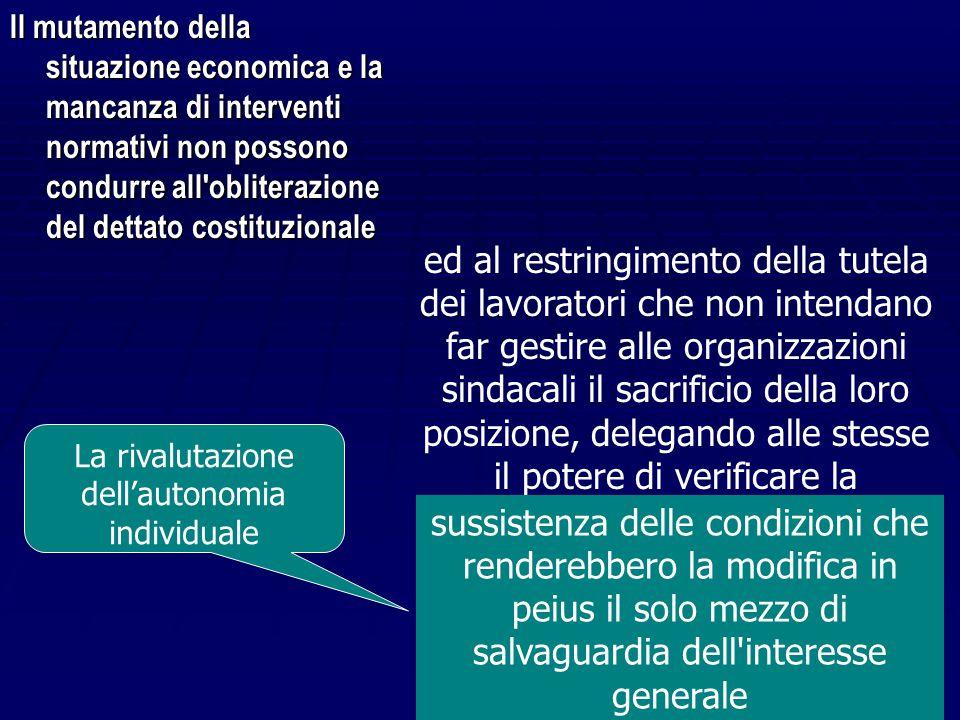 """La Cassazione riconosce il ruolo della contrattazione nella gestione delle crisi... """"La necessità di gestire in qualche modo il fenomeno della crisi…"""
