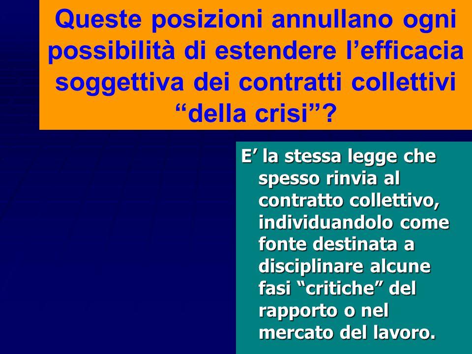 """Conclusione """"Deve ritenersi, alla stregua delle considerazioni esposte, l'impossibilità, nell'attuale sistema normativo, di riconoscere efficacia c.d."""