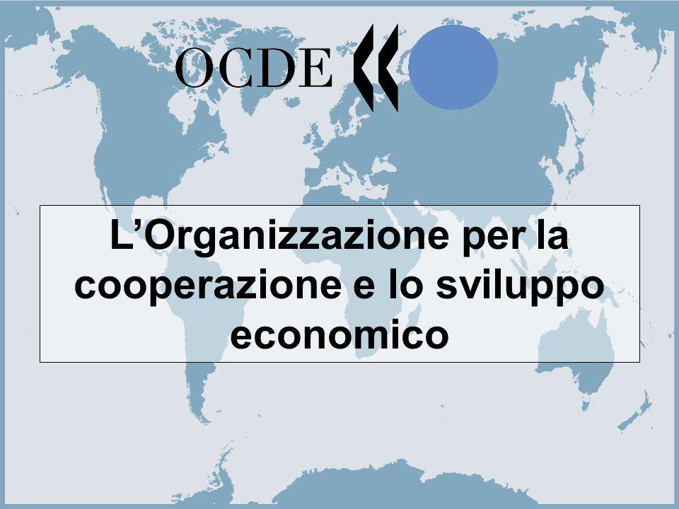 1 L'Organizzazione per la cooperazione e lo sviluppo economico