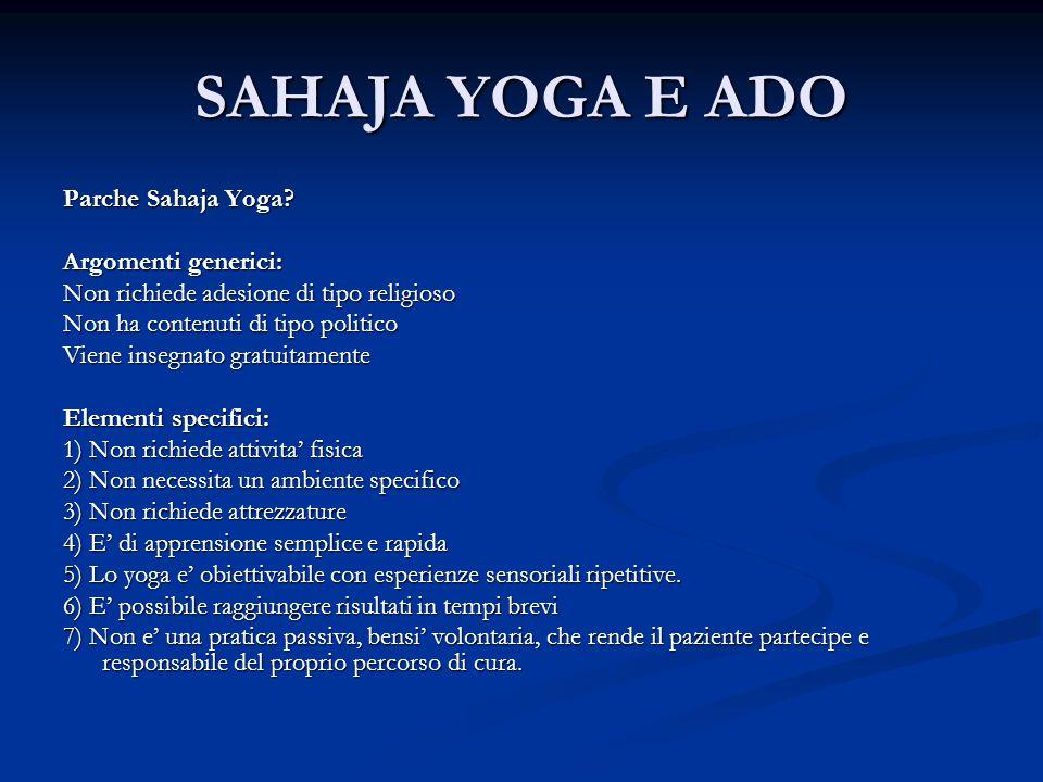 SAHAJA YOGA E ADO Parche Sahaja Yoga.